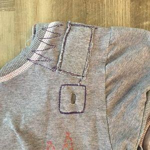 Parasuco Tops - Skull Punk/Rock short sleeve T-shirt